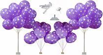 Kit 04 Und Suportes Balões para Decorações de Festas Bases Ferro Enfeites Chao e Mesa 150 Cm 70 Cm - C&SÁ