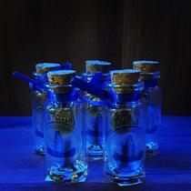 Kit 05 lembrança vidro nossa senhora aparecida 300 anos - atacado - Armazem