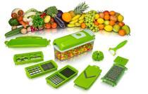 Kit 05 Nicer Dicer Plus Cortador Fatiador Legumes IKAZA -