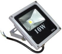 Kit 05 PeÇas - Holofote Refletor Led 10w Branco Frio 6500k Bivolt - Powerxl