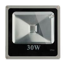 Kit 05 Pecas - Holofote Refletor Led 30w Rgb   Controle Remoto Bivolt - Powerxl