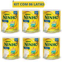 Kit 06 Latas Leite Em Pó Integral Ninho Forti + 400g - Nestlé