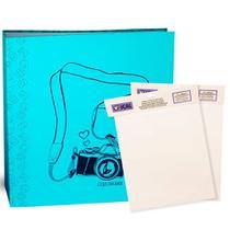 Kit 1 álbum autocolante + 2 refis ical -