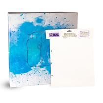 Kit 1 Álbum Autocolante + Refil Ical Pintura -