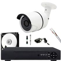 Kit 1 Camera De Vigilancia Noturna hd 1.3mp Bullet Completo - Xmeye
