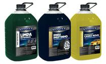 Kit 1 Limpa Estofado 1 Aromatizante 1 Pneus Pretinhos 5l Von - Vonixx