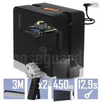 Kit 1 Motor PPA 1/4CV Dz Hub 3m Crem 2 Control Portão 450Kg -