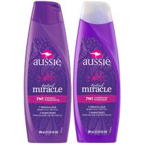 Kit 1 Shampoo Aussie 7 em 1 Total Miracle 360ml + 1 Condicionador Aussie 7 em 1 Total Miracle 360ml