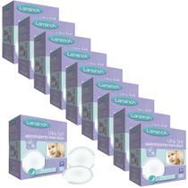 Kit 10 Absorventes Para Seios Lansinoh Ultrasoft C/ 24 Unidades - L01020030 -