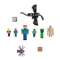 Kit 10 Bonecos Minecraft  Dragão Nova Coleção Brinquedo Infantil - Outas Marcas