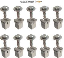 Kit 10 Buchas + 10 Parafusos Fixação Do Farol GM Celta - Lil Fix - Automotive Parts / Megafix