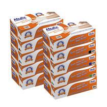 Kit 10 Caixas De Luva Látex Com Pó Medix Brasil - 1000 un.(500 pares) -