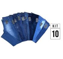 Kit 10 Calças Jeans Vira Lata Wear Original -