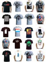 Kit 10 Camisa Camiseta Blusa Masculina DROOP! -