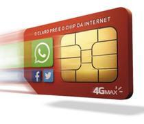 Kit 10 Chip Claro 4g Pré-pago Para Qualquer Ddd Atacado -