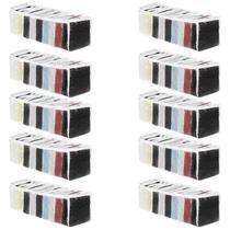 Kit 10 Colmeias Organizadoras 10 Nichos Transparente 14,5x34x10 P 123Organizei - 123 Organizei