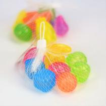 Kit 10 cubos de gelo artificial colorido reutilizável - Clink