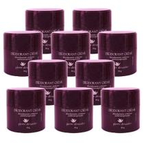Kit 10 Desodorante Em Creme Pierre Alexander Antitranspirante 50g -