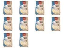 Kit 10 Extrato Soja Leite de Soja em Pó Vegano 500g Grings -