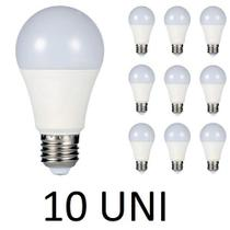 Kit 10 Lamp Led bulbo 15W Bivolt Branca Fria E27 Inmetro - Vany