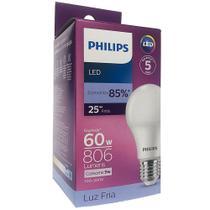 Kit 10 Lâmpadas Led Philips 6500k 806lm - Ilumina Mais -