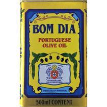 Kit 10 Latas Azeite Bom dia Português de Oliva Lata 500ml cada -