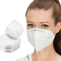 Kit 10 Máscara De Proteção Hospitalar KN95 Com Clip Nasal - Lanxi