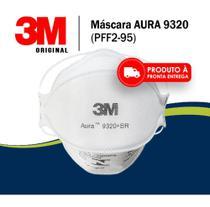 Kit 10 Máscara PPF2 3M Aura 9320 + BR -