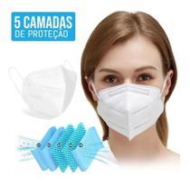 Kit 10 Máscara Respiratoria Proteção Pff2 Kn95 (PRONTA ENTREGA) - Huweikang