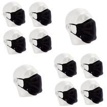 Kit 10 Máscaras de Proteção Lupo Antimicrobial Lavável -