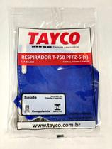 Kit 10 Máscaras Respiratória Pff2 N95 Inmetro Ca 39219 - Azul - Tayco
