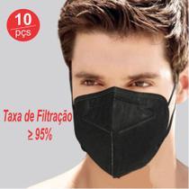 kit 10 ( N95 ) Máscara de Proteção Preto - Guangzhou Tianyi Zhongliang