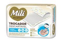 Kit 10 Pacotes Trocador Descartável Mili Love & Care 50 Un -
