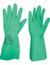 Kit 10 Pares Luva Nitrilica Super Nitro Green Tam. 8(M) Verde - Super Safety