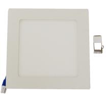 Kit 10 peças Luminária Plafon LED Quadrado Embutir 12w Branco Frio 6500k - Powerxl