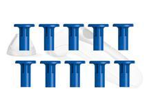 Kit 10 Ponteiras para iPeel - Grande Azul - Basall -