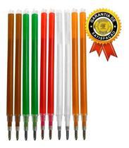 Kit 10 refil carga caneta magica fantasminha - cores sortida - Lanmax