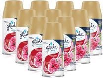 Kit 10 Refil Glade Automatic Frutas e Flores Vibrantes 269ml - Johnson