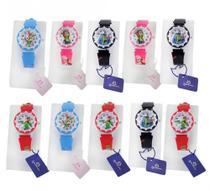 Kit 10 Relógios Infantis Analógico Atacado Revenda - Orizom