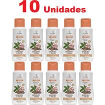 Kit 10 Sabonete Líquido Íntimo Barbatimão e Aroeira 200ml Bio Instinto -