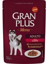 Kit 10 - Sachê Gran Plus Cães Vários Sabores - 100g - Agropet Nutrimed