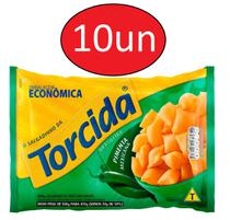 Kit 10 Salgadinhos Torcida Pimenta Mexicana 450g - Lucky -