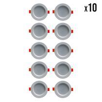 Kit 10 Spot's de LED (3500K) - Mach