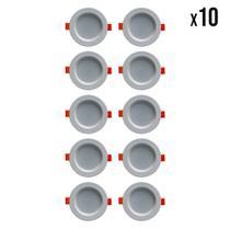 Kit 10 Spot's de LED (6500K) - Mach