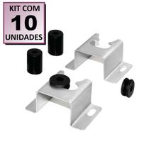 Kit 10 Suportes P/ Tv Fixo Parede Painel Universal 32 a 71 - Moveis Bechara