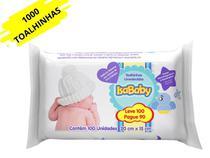 Kit 1000 Toalhinhas Umedecidas Isababy Lenços Umedecidos R N -