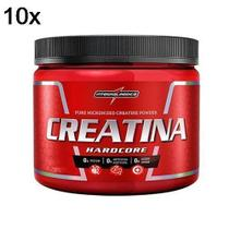Kit 10X Creatina Hardcore Reload - 300g - IntegralMédica - Integral Médica
