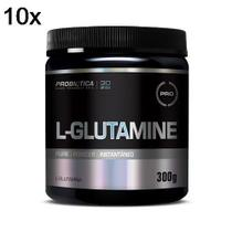 Kit 10X L-Glutamine - 300g - Probiótica -