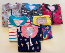 Kit 12 blusas infantil - Ebenezer