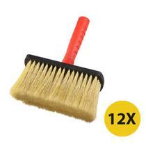 Kit 12 Broxa Trincha Grande 18cm Jumbo Atlas Pintura Limpeza -